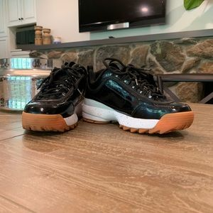 Fila Bandier Collab Rare Patent Leather Sneaks